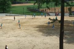 Bambini e baseball in Central Park - NYC