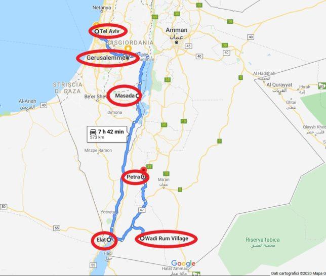 Cartina Israele Giordania.Israele E Giordania Come Organizzare Il Viaggio Tilly E Il Vagamondo